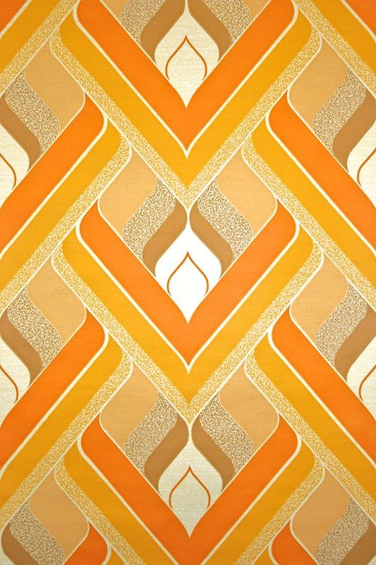 Original retro wallpaper & vinyl wallcovering from the sixties & seventies -