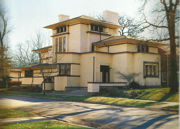 Fricke House, Oak Park, Illinois. 1902