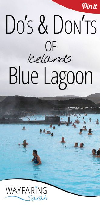 How to make the most out of your trip to the Blue Lagoon in Iceland!