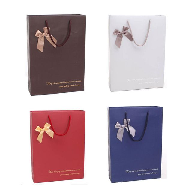 High-grade 10 pcs paper gift bag,30x40x10CM,Janpan technical, Kraft paper bag ,Christmas bags, Wholesale price #paperbags