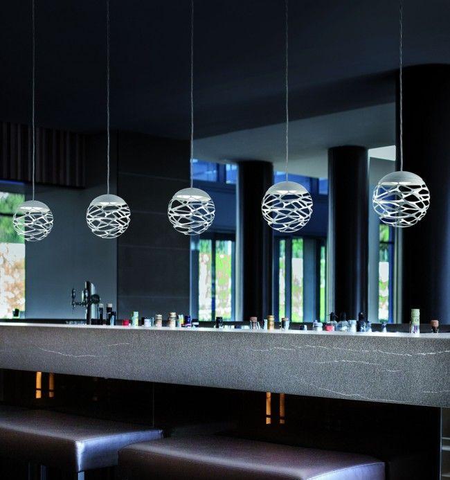 Kelly Cluster hanglamp [SO] 1 sphere - Interieur