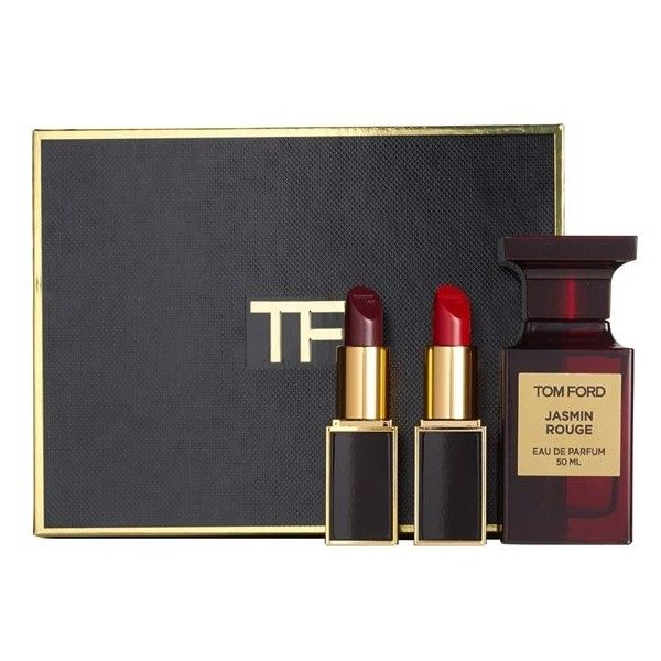 Tom Ford Private Blend 'Jasmin Rouge' Eau de Parfum & Lip Color Set found on Polyvore featuring beauty products, fragrance, makeup, no color, tom ford fragrance, tom ford perfume, floral perfumes, edp perfume and tom ford