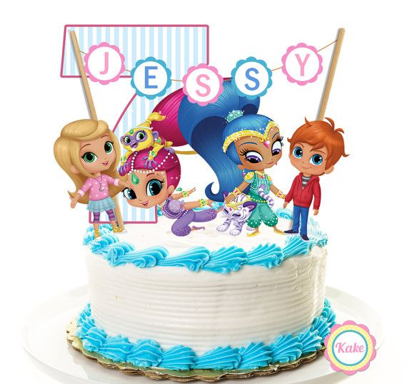 Birthday Cake Banner Pinterest