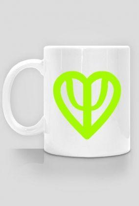 Serce limonkowe, 20,00 zł, #psychologia, #psychology, #psychopraca, #cupsell, #gifts, #prezenty, #psi #heart