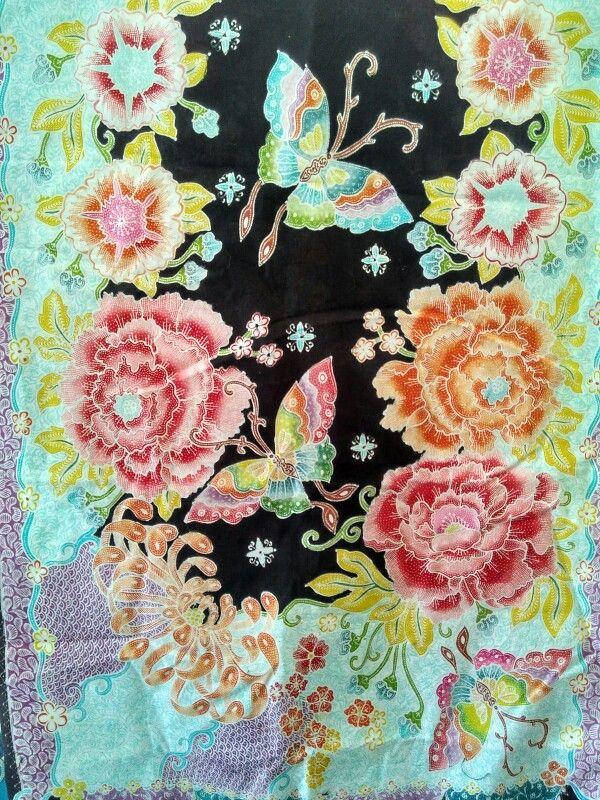 #Batik motif #Hokontul,  Hokokai  Bantul  Indonesia