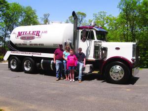 Classy Trucks: B.E. Miller & Son Septic Services. June 2013