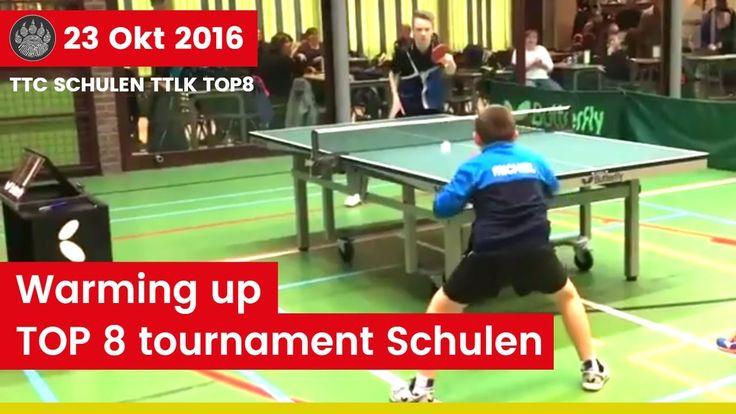 TOP 8 table tennis tournament at TTC Schulen - Michiel Nijst Table Tennis Player    #ittf #vttl #tafeltennis #tennisdetable #tischtennis #乒乓球 #tennisdemesa #pingpong #bordtennis #sport