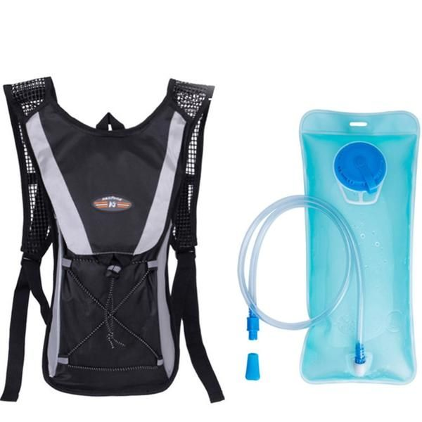 Outdoor Survival 2L Water Bag Backpack Hydration Hiking Riding Running Vest Bag