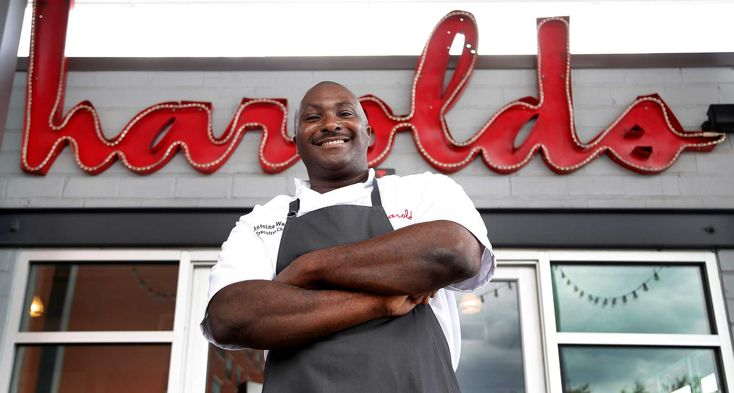 Antoine Ware brings spicy NOLA kick to Harold's in the Heights.