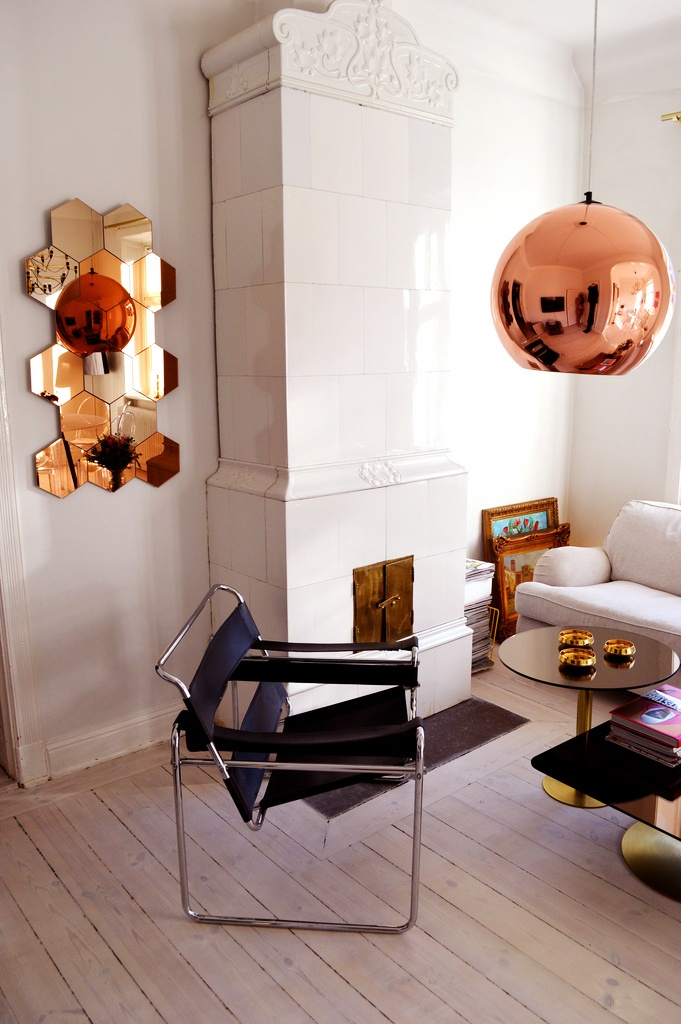 Interior inspo from Petra Tungårdens home. #interior #design #copper