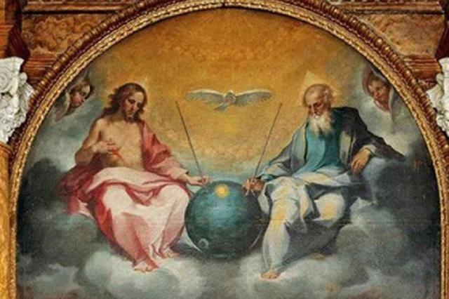 Impressionante: Pintura do século 16 choca religiosos ao revelar que Jesus e Deus são seres extraterrestres ~ Sempre Questione