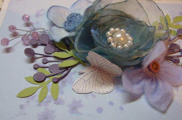 Упаковка для декора цветок