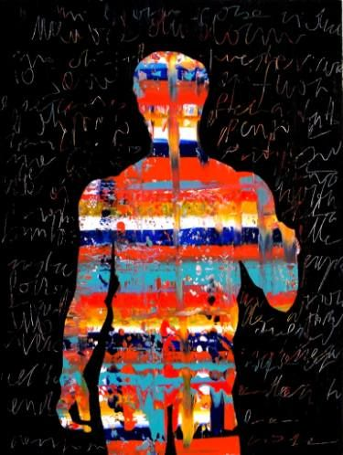 """Saatchi Art Artist Paolo Cervino; Painting, """"About poetry n. 72-Spearman (Doriforo)"""" #art"""