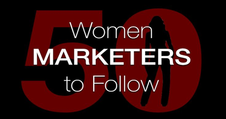 50 Awesome Women in Marketing to Follow Honored to be part of this list of prestigious women marketers highlighted by SEO Journal.