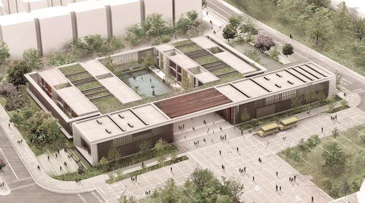 La Secretaría Distrital de Educación se alió con el arquitecto Frank Locker para diseñar nuevos colegios que se parezcan menos a una cárcel y más a un espacio de aprendizaje.