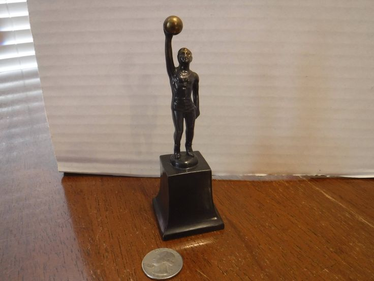 Vintage Brass Basketball Trophy, Basketball Trophy, Man Statue, Male Athlete Sports Team Player, Basketball Player MALE  Sculpture Award by BeautyMeetsTheEye on Etsy