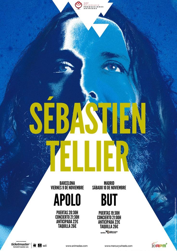 Conciertos de Sébastien Tellier en España