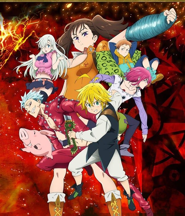 17 Best Images About Nanatsu No Taizai/ The Seven Deadly