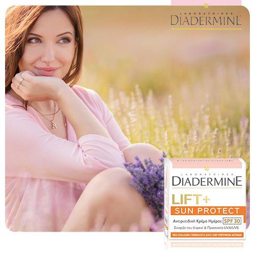Αν επιθυμείς σύσφιξη και καθημερινή προστασία από τις ακτίνες του ήλιου, τότε η Diadermine Lift+ Sun Protect είναι η ιδανική επιλογή!