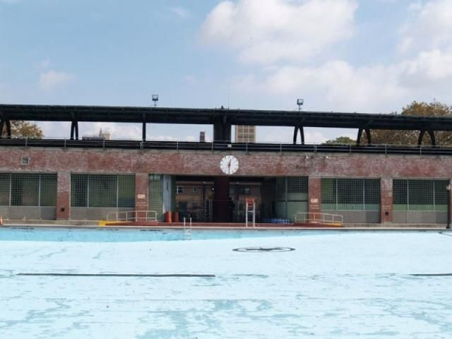 SWIMMING POOLS | Where Can You Swim Laps Outdoors in Brooklyn? Does NYC have Olympic Size Pools?: Brooklyn has 5 Olympic-sized public pools, built in the 1930s, such as the Sunset Park pool. Some have special times for lap swimmers.