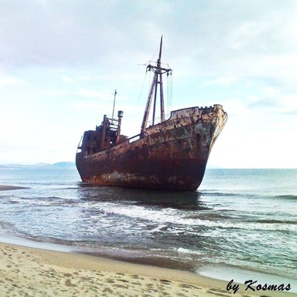 My photo of the Shipwreck Dimitrios at Gythio - Lakonia, Greece in 2009. Very soon I will film this shipwreck. Subscribe to my channel to see this video and many more with shipwrecks and sea life. Underwater Videos by CVP: Http://www.youtube.com/user/CatamanVP  #shipwreck #underwatervideoscvp #sealife #sea #shipwrecks #ocean #nature #ilovesea #wreck #wreckfilming #wreckpics #wreckboat #blue