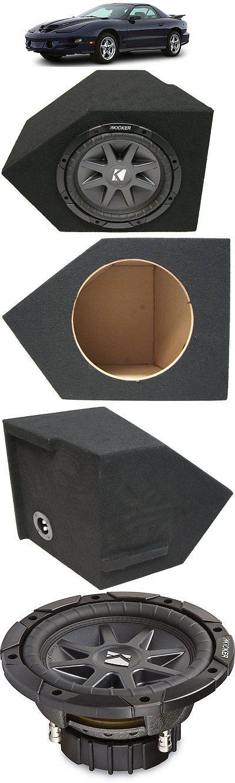 Speaker Sub Enclosures: 1993-2002 Pontiac Firebird Single 10 Kicker Cvr10 Custom Sub Subwoofer Box New -> BUY IT NOW ONLY: $169.99 on eBay!
