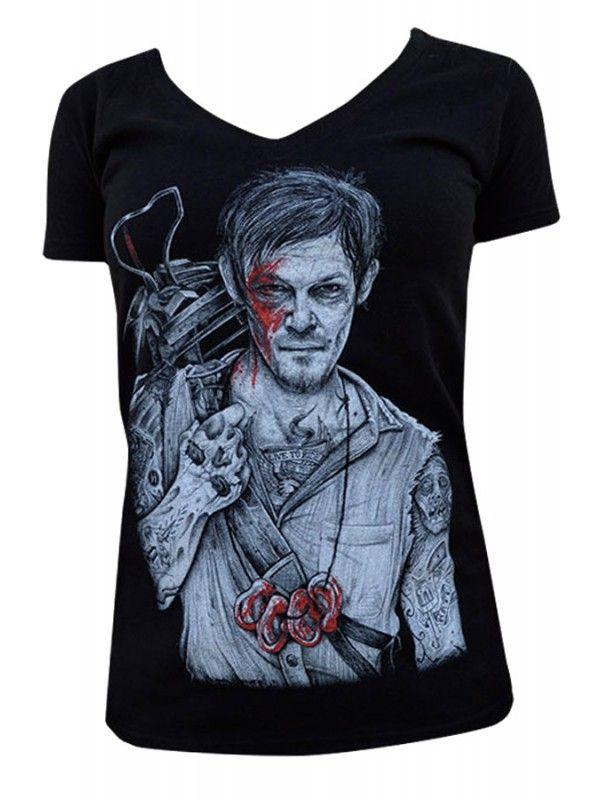 Black Market Art company Women's Daryl V-Neck T-Shirt