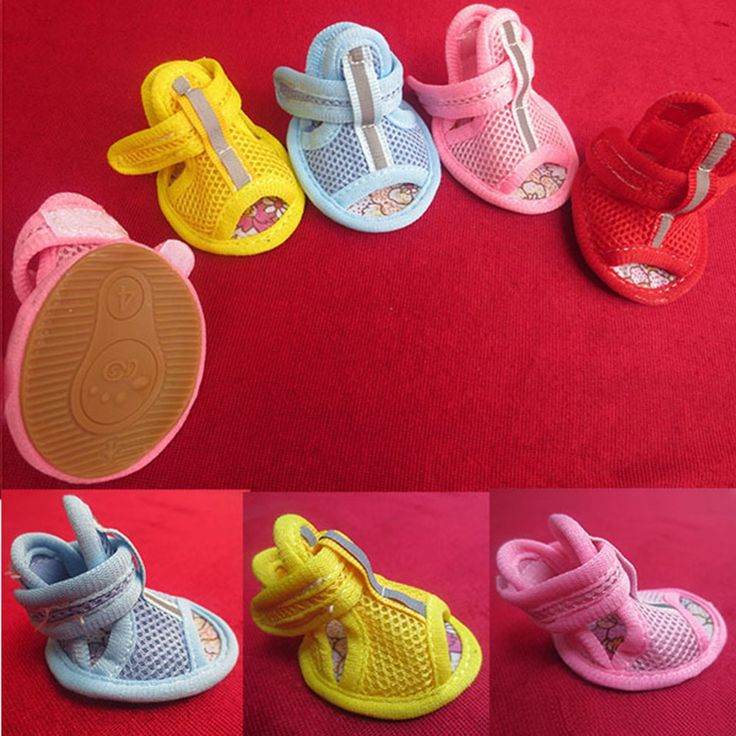 4pcs Small Pet Dogs Puppy Shoes Summer Mesh Breathable Sandals Boots // FREE Shipping //     Buy one here---> https://thepetscastle.com/4pcs-small-pet-dogs-puppy-shoes-summer-mesh-breathable-sandals-boots/    #nature #adorable #dogs #puppy #dogoftheday #ilovemydog #love #kitty #kitten #doglover #catlover