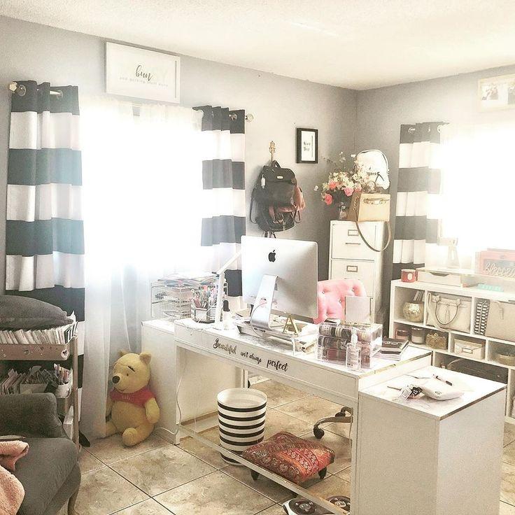 Best Homeoffice Desk:  Best Craft Rooms #craftrooms On Instagram: #Repost