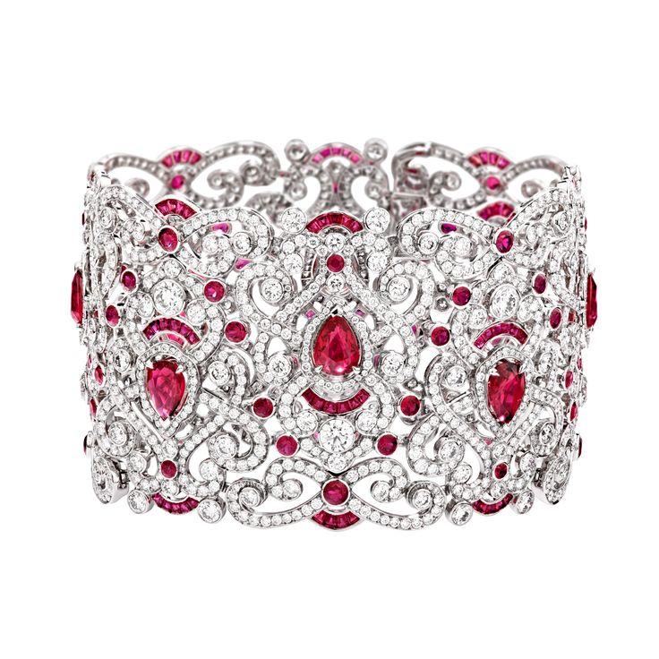 Fabergé Regalia Ruby Bracelet #Fabergé #diamond #ruby #bracelet