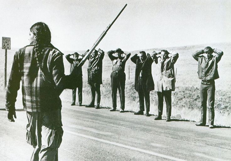 The Wounded Knee incident began on February 27, 1973, when approximately 200 Oglala Lakota and followers of the American Indian Movement (AIM) seized and occupied the town of Wounded Knee, South Dakota, on the Pine Ridge Indian Reservation. The protest followed the failure of an effort of the Oglala Sioux Civil Rights Organization (OSCRO) to impeach tribal president Richard Wilson, whom they accused of corruption and abuse of opponents.