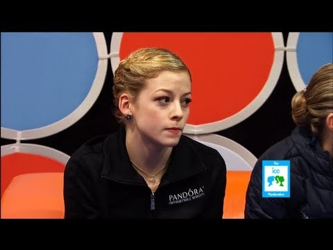 Gracie Gold's Not Impressed Reaction to 2nd Place | LIVE 1-26-13