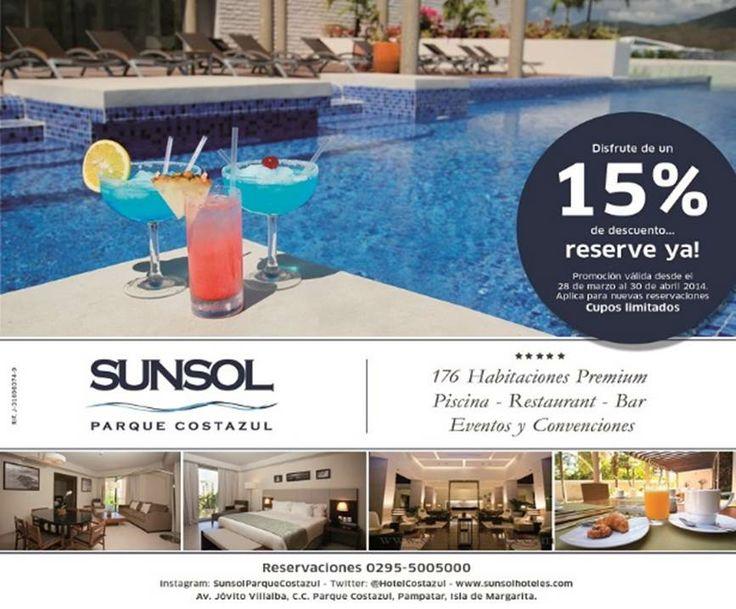 Sun Sol Hoteles Carretera Costanera Playa El Tirano    Tlf   +58-295-4001722 Tlf   +58-295-4001723 Fax +58-295-4001729 Isla de Margarita - Venezuela