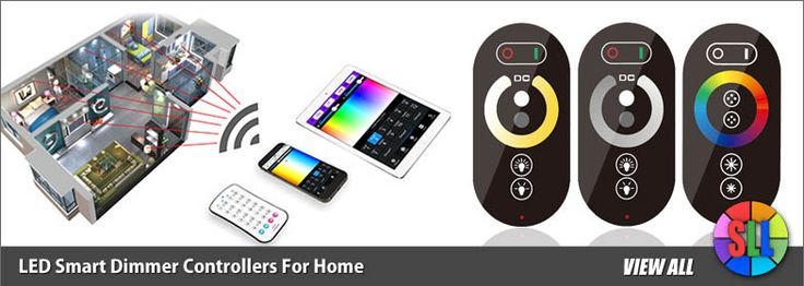 LED Dimmer Controllers