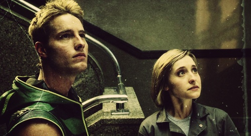 justin scott hartley (oliver jonas queen / green arrow) / allison mack (chloe sullivan)