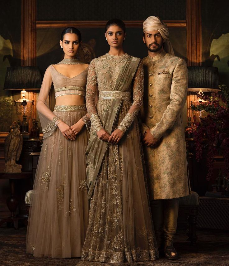 "D E S I . T H R E A D S - strictly-indian-fashion:   ""Firdaus"" by Sabyasachi..."
