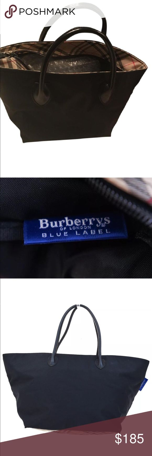 Burberry Jumbo bag with Burberry Print areas Extra large authentic Burberry bag haymarket print bottom and closure are. Used with frayed corners see last pic but corners were sealed for no further damage Hence Price! No dustbag sorry! Burberry Bags Shoulder Bags