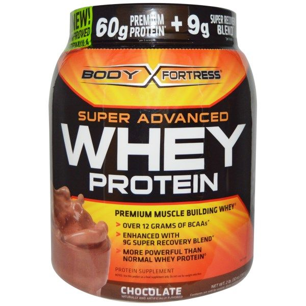 Body Fortress Super Advanced Whey Protein Chocolate 32 Oz 907