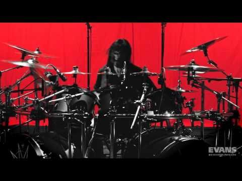 VIDEO: Jay Weinberg (Slipknot) (Evans performance)