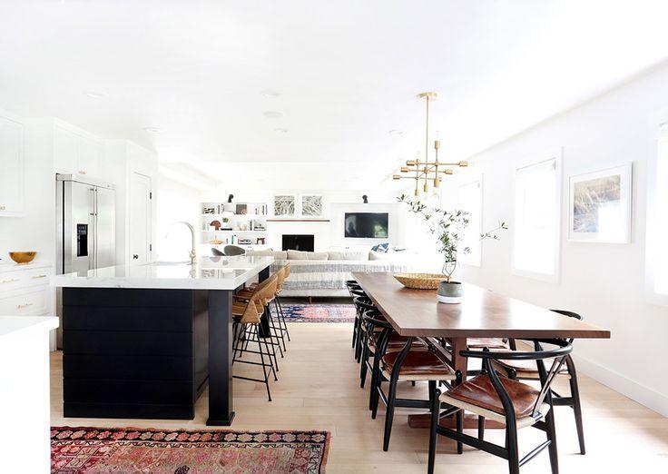 Image result for split level semi open kitchen