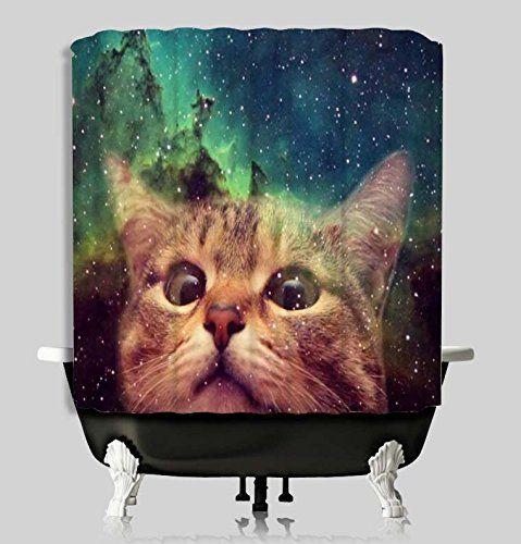 Galaxy Cat Inspired Shower Curtain 66 X 72 Inches Waterpr... https://www.amazon.com/dp/B01JYTYLKW/ref=cm_sw_r_pi_dp_x_RlRQxbTTFVEQT