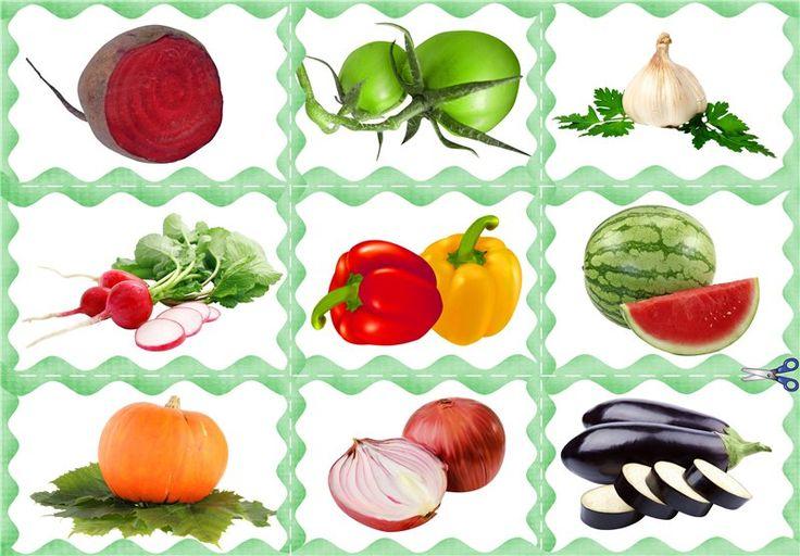 Картинки на тему овощи и фрукты для детского сада