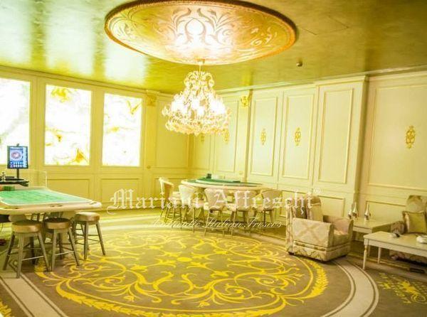 01-Casinò-Le-Grand-Vie-Bucarest-nuova-realizzazione-Mariani-Affreschi-elemento-arredo-architetto-Minuti-cupola-decorata-foglia-oro