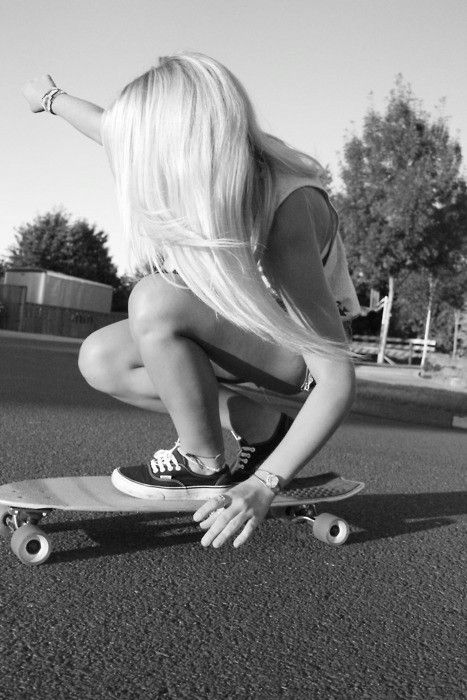 so there are other girl skateboarders im not the only one! good to know!