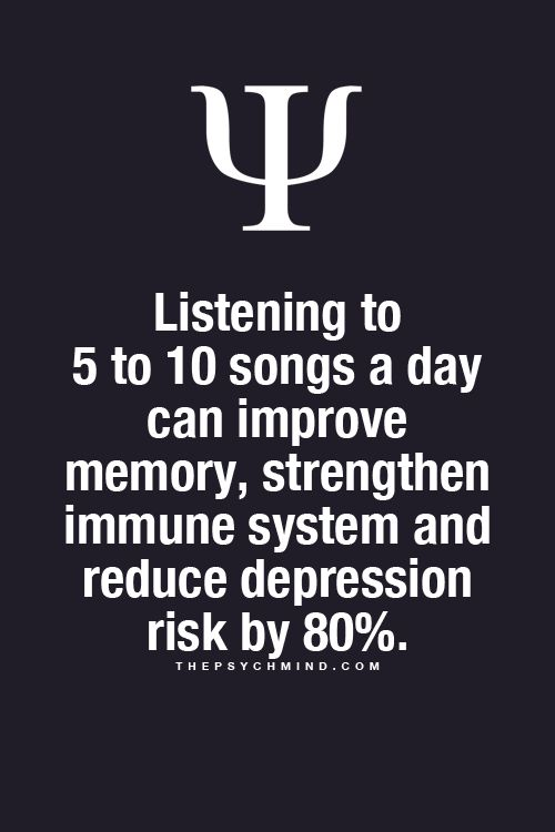 Fun Psychology facts here! Not so sure this is true cause I listen to way more music than that and can't remember diddly!