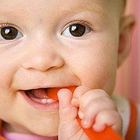 Your Baby's Teething Timeline (via Parents.com)