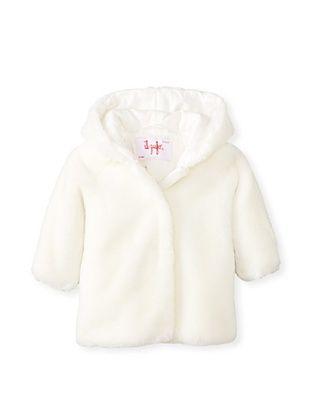50% OFF Il Gufo Kid's Hooded Jacket (Milk)
