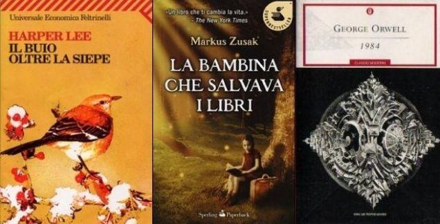 I 30 libri capaci di cambiare la vita di un lettore Bookriot, libri, romanzi, Il buio oltre la siepe, Harry Potter, La bambina che salvava i libri, 1984, Il racconto dell'ancella libreriamo.it
