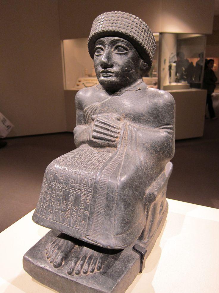 Gudea, Sumerian king of Lagash (c. 2150 - 2125 BC)