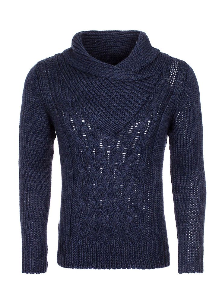 Key Largo Knitwear Glasgow navy